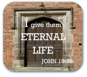 I give eternal life
