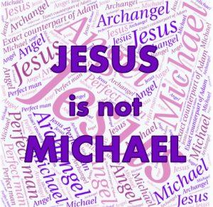 jesus-is-not-michael