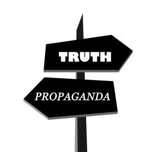 Propaganda sign