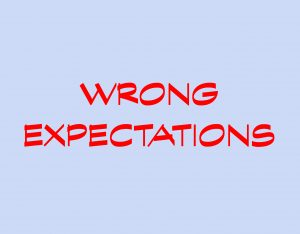 Wrong expectations 2