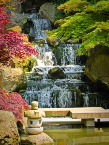 Kyoto Garden Waterfall