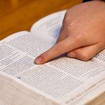 Bible Open Bible Bible Study Child Hand Study