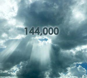 144,000 in heaven b