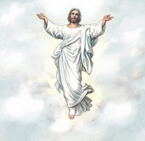 Jesus in heaven