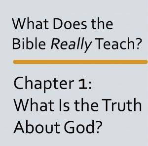 Bible teach Ch 1